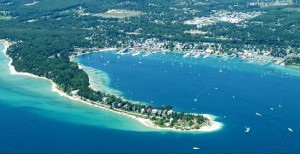 Harbor Springs near Petoskey, Michigan