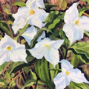 """Trillium Time"" Notecard 