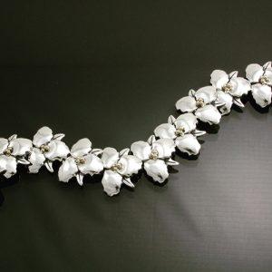 Trillium Link Bracelet | Trillium Jewelry | Mary Ann Archer