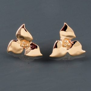 Trillium 'Post' Earrings | Trillium Earrings | Mary Ann Archer